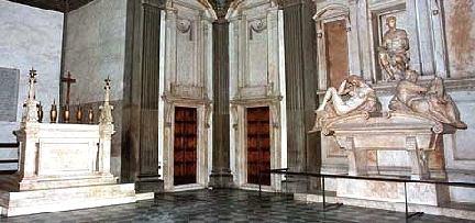 Brunelleschi Old Sacristy Medici Chapels Florenc...