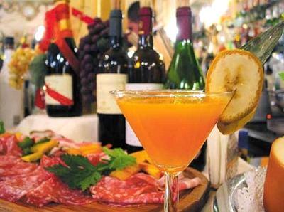 La tournée d'un ancien Firenze-cucina-aperitivo